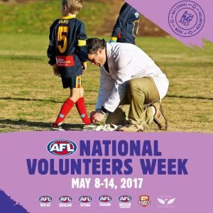 Volunteer Week 08-14 May 2017