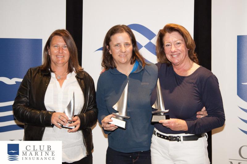 PPWCS 2017 PHS Awards - Celia Dymond (2nd), Monica Jones (1st), Marg Neeson (3rd)