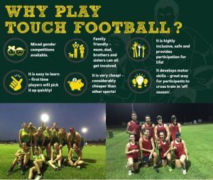 how to play touch football