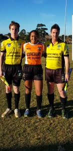 Visit from New Zealand Referee