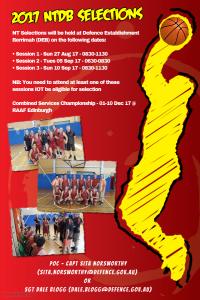 NT Defence Basketball