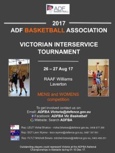 VIC Defence Basketball