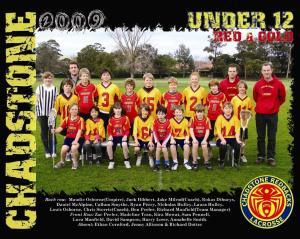 2009 U12 boys