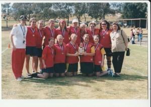 2002 U17 Girls with Caulfield