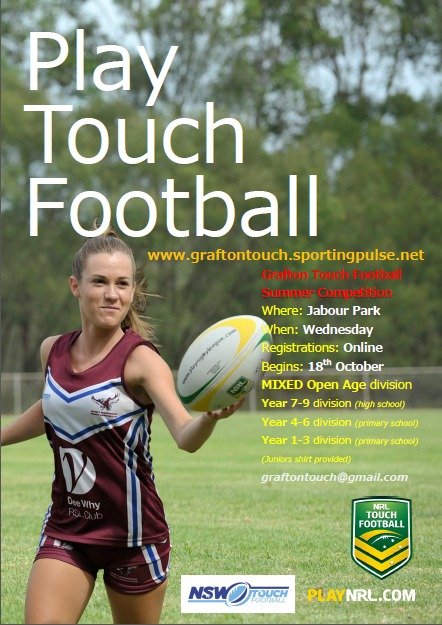 sporting pulse touch football