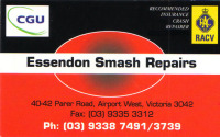 5. ESSENDON SMASH REPAIRS
