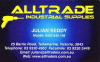 9. ALLTRADE INDUSTRIAL SUPPLLIES