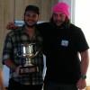 Lewis Davies & John Radnell Winning Ossie Mc