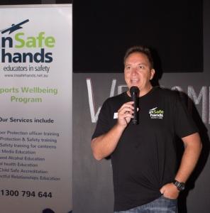 Major Sponsor In Safe Hands CEO Michael Pecic