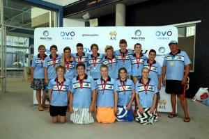 ACU Cronulla Sharks - 2018 Boys 14&Under National Silver Medalists