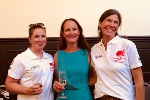 Melbourne Osaka Cup -  Joanna Breen (Tas), Sue Bumstead (Vic), Annette Hesselmans (NSW)