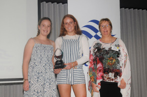 Female Sailors of the Year 2017-18 Laura Harding and Ella Grimshaw