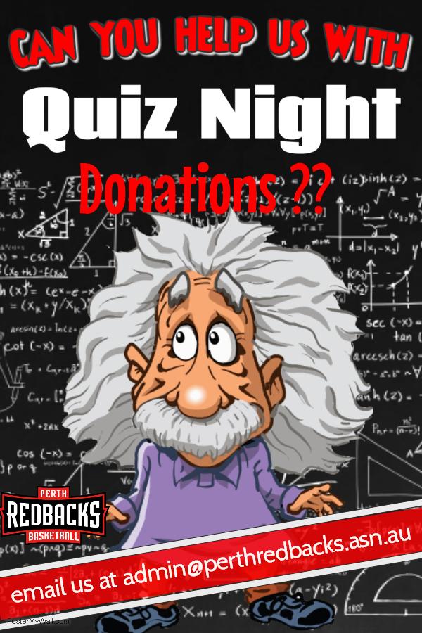 Quiz Night Donations - Perth Basketball Association - SportsTG