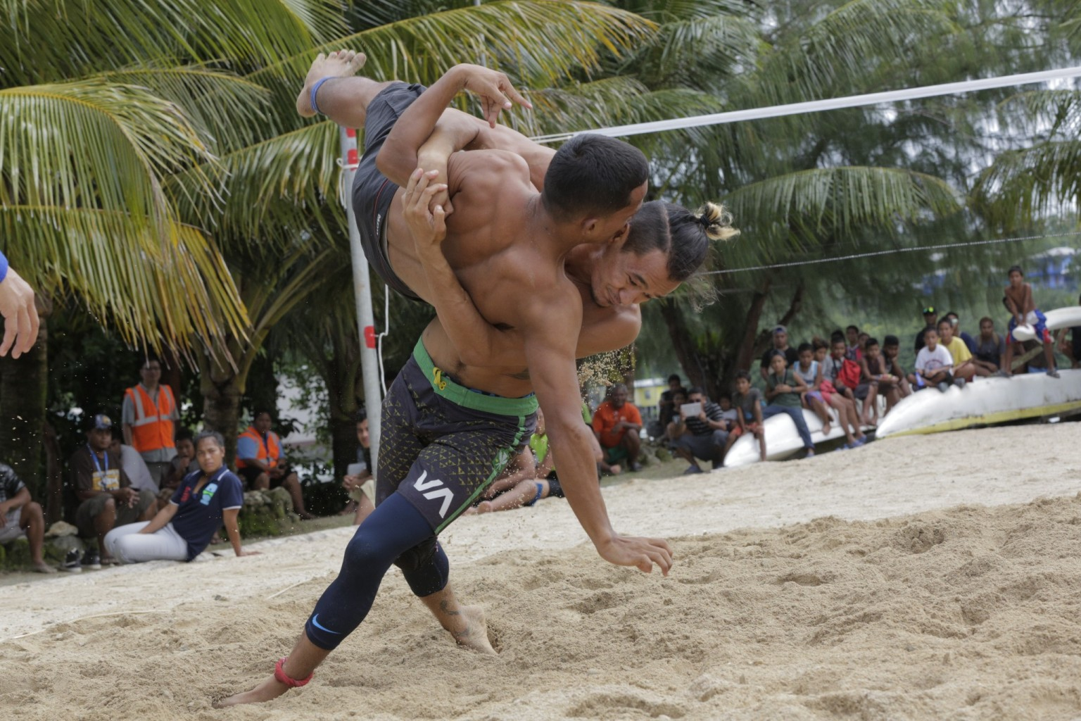 Palau Dominate the wrestling competition - 2018 Micronesian