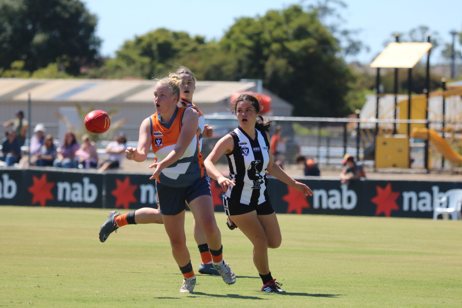 983ee9a3 Giant win for youth girls footy - AFL Gippsland - SportsTG