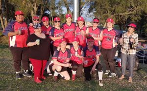 Fallin Angels team photo